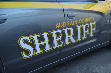 Audrain County Sheriff's Car