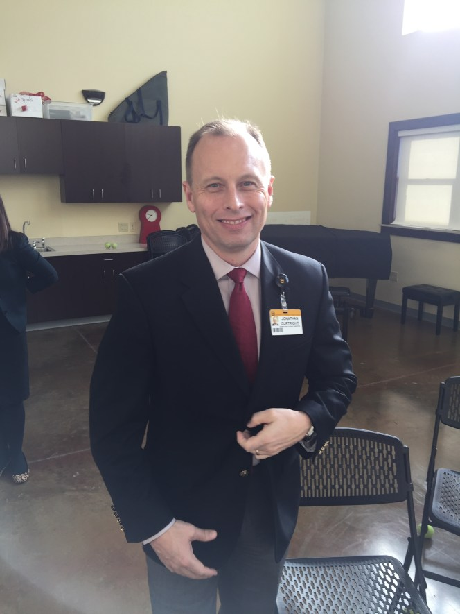 jonathan curtwright MU Healthcare CEO
