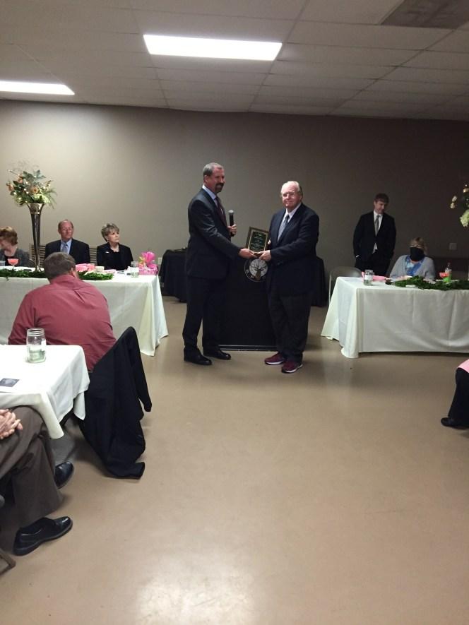 chamber dinner civic award