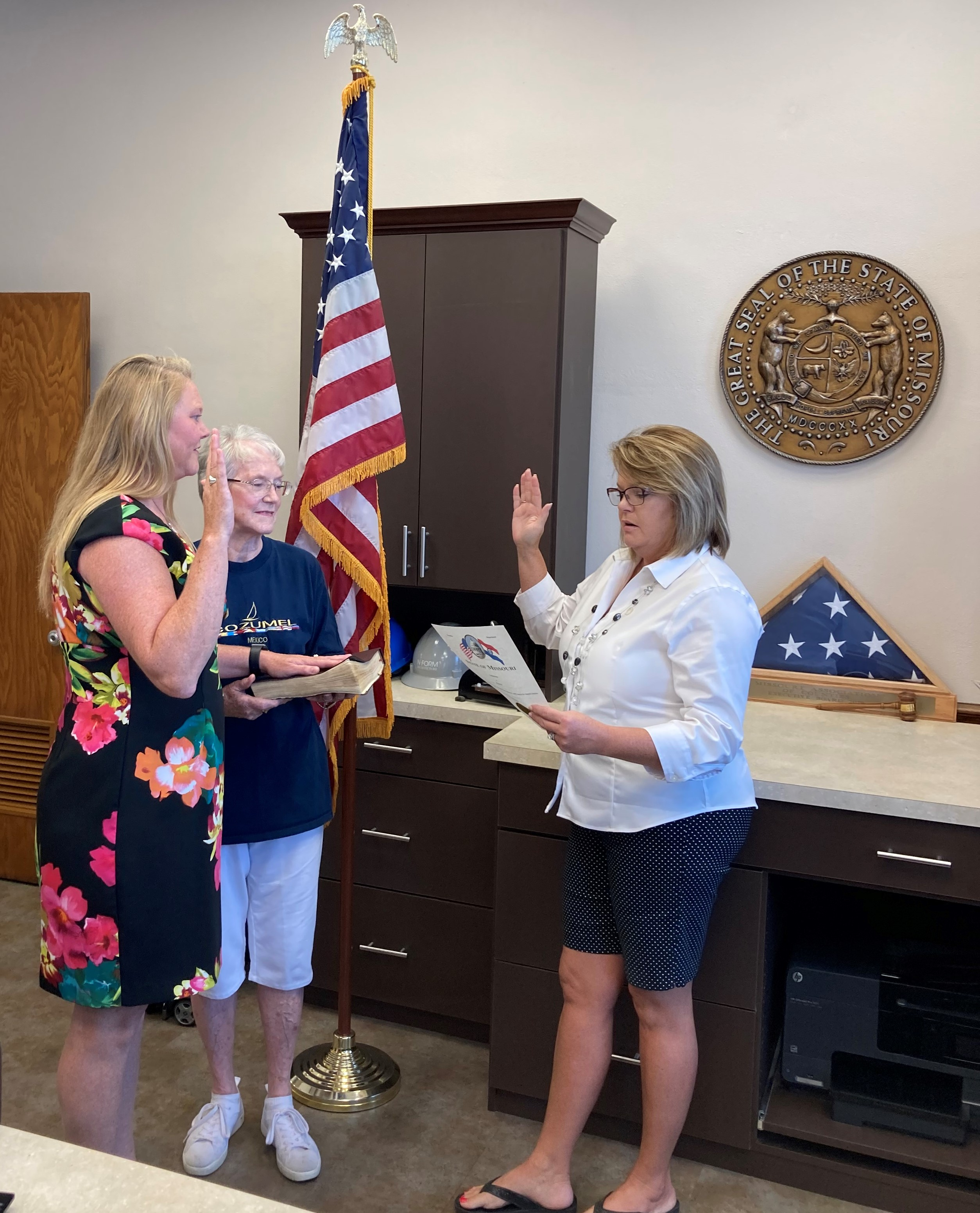 Audrain County Assessor Melissa Maupin Sworn In For Another Term
