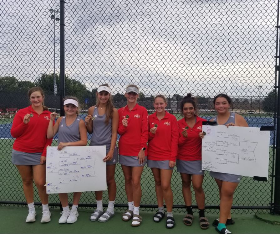 Mexico Girls Tennis Team Finishes Second In NCMC Tourney And Seven Lady Bulldogs Bring Home All Conference Honors