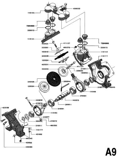O-Ring (for hardi 1200/ 1301 pump) (Part No. 330061)