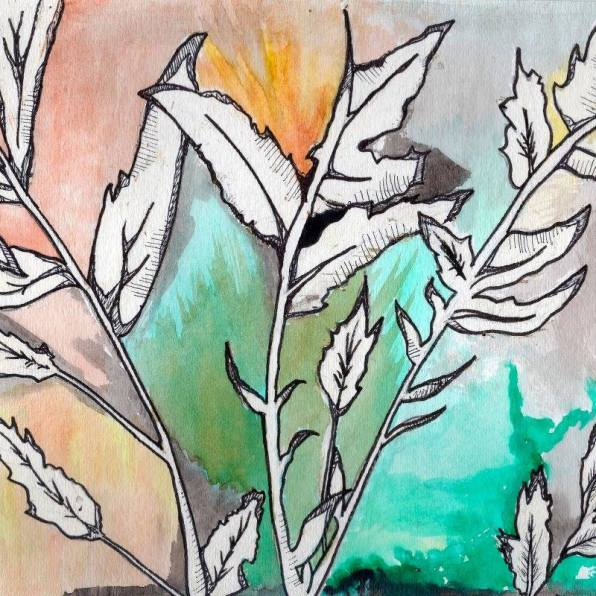 """Sunrise Garden"" - Digital Artwork, 2017"