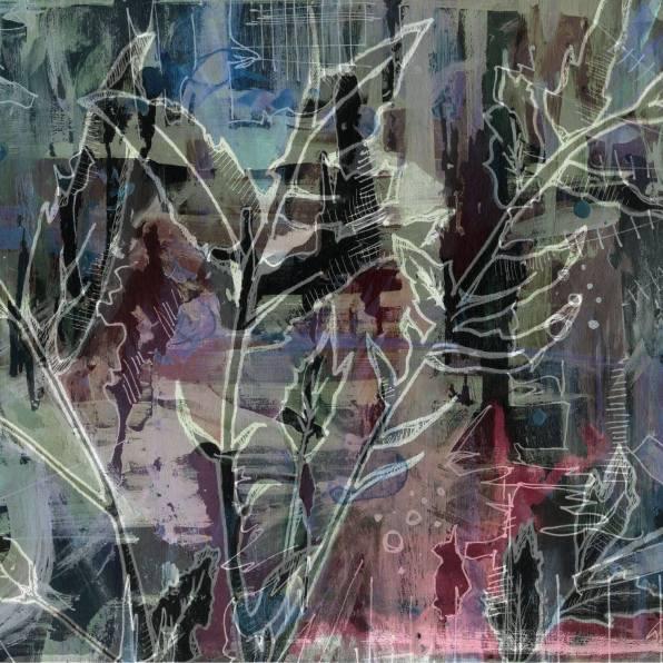 """Sunset Garden"" - Digital artwork, 2017"