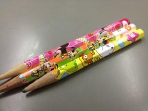 キャラクター鉛筆