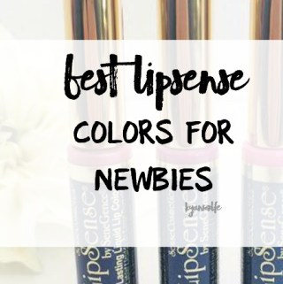 best lipsense colors for newbies