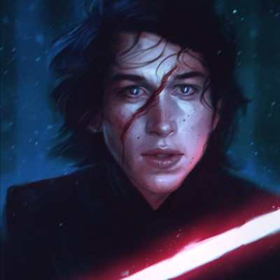 Kylo Ren by Diana