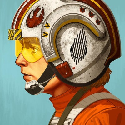 Red Five by Mike Mitchell