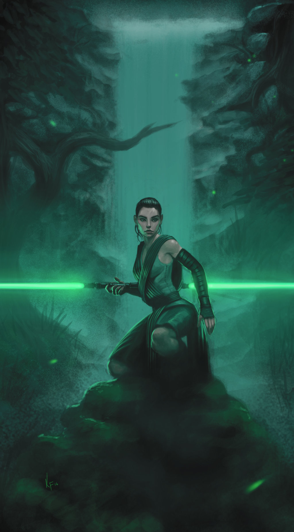 Rey In The Forest by Keith D Franklin