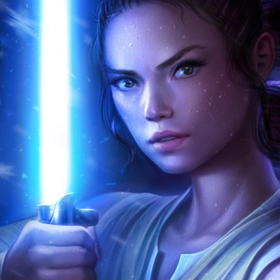 Rey by Michelle Hoefener