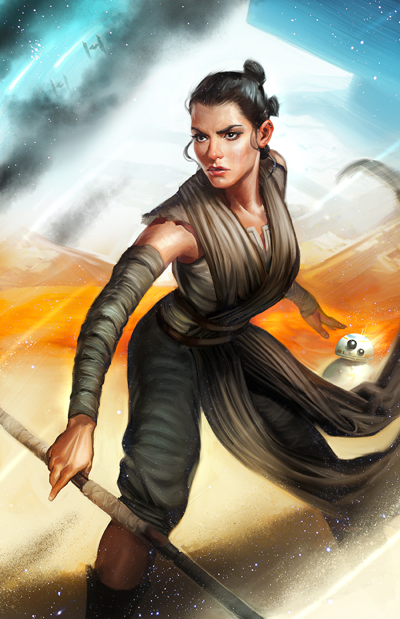 Rey by Crystal Graziano