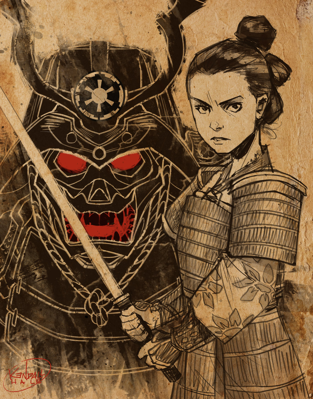 Samurai Rey by Kendall Hale