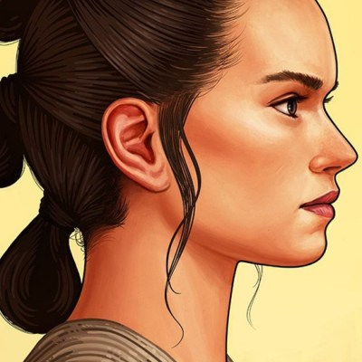 Rey by Mike Mitchell