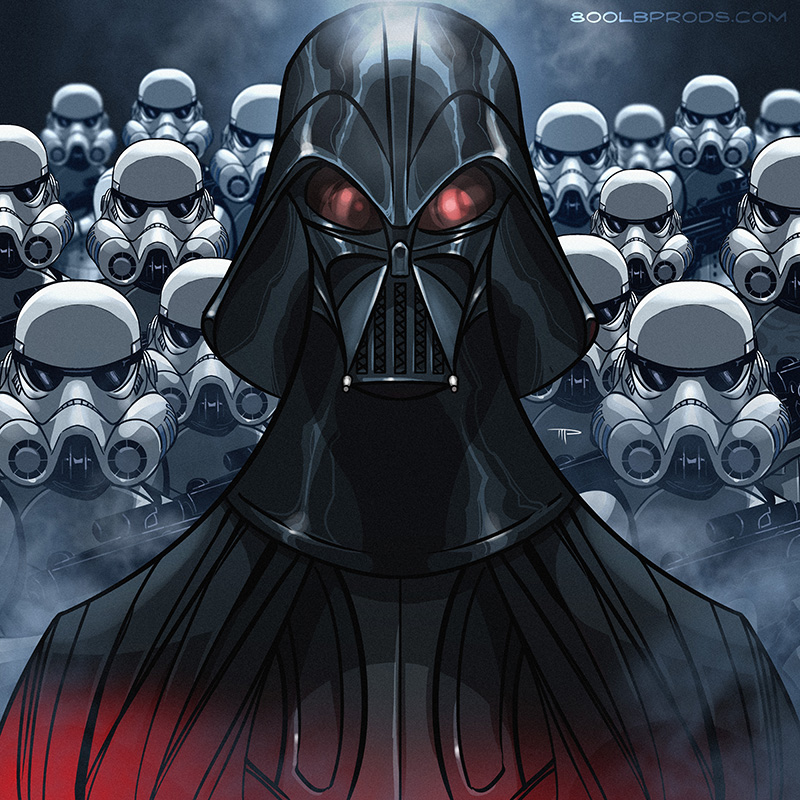 Darth Vader by Michael Pasquale