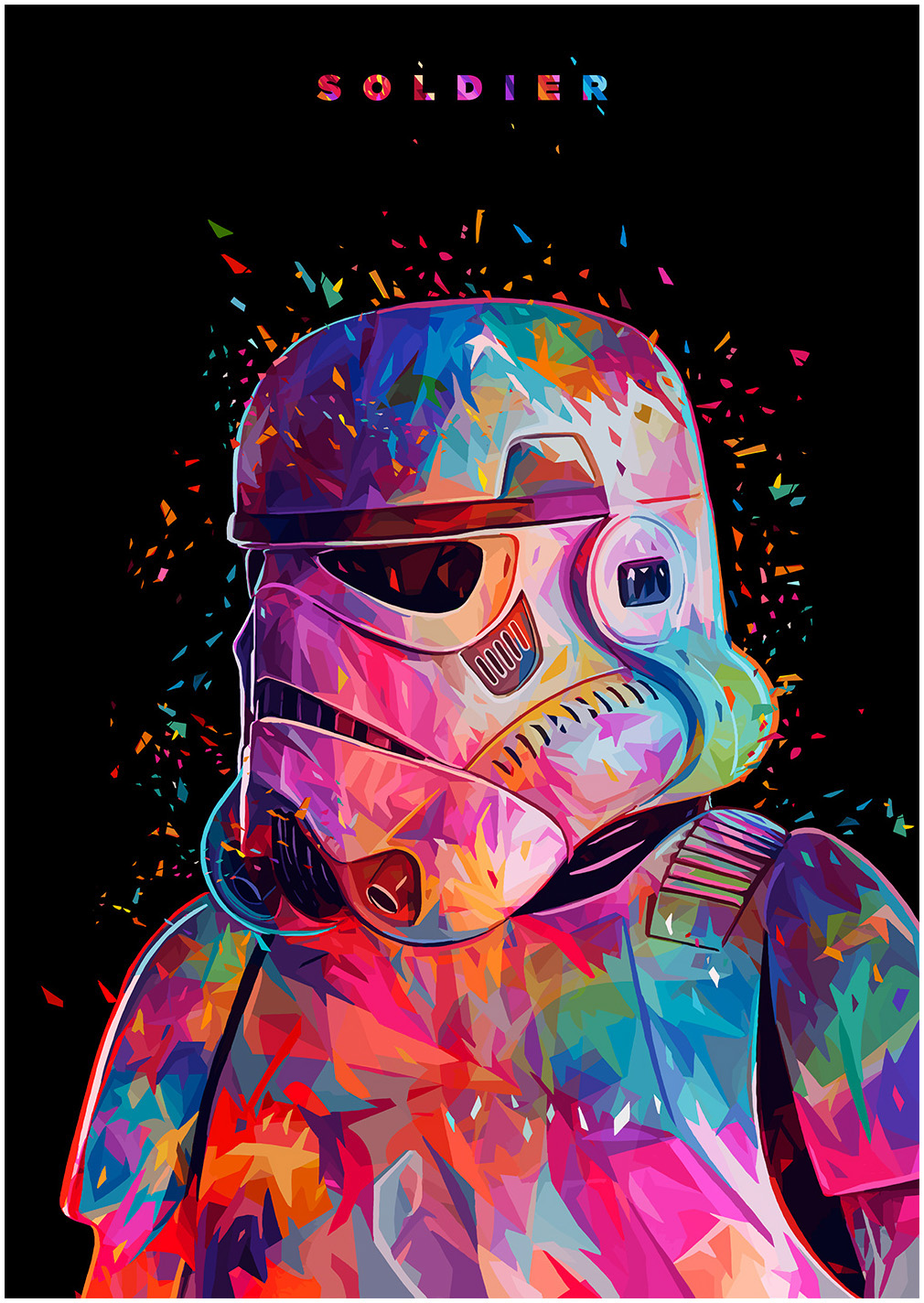 Star Wars Tribute - Stormtrooper by Alessandro Pautasso