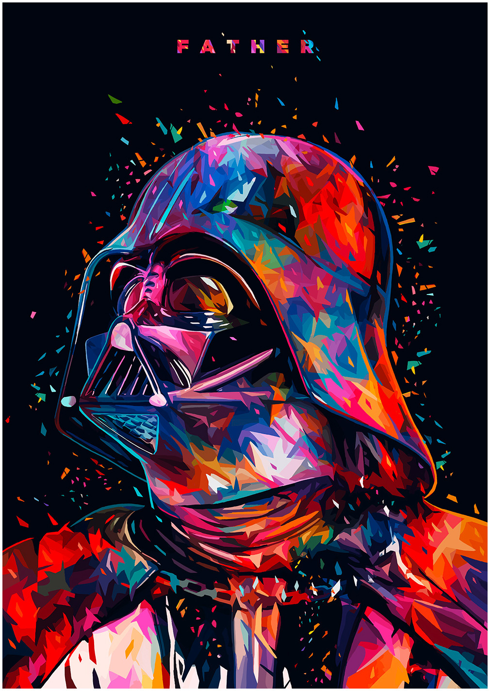 Star Wars Tribute - Darth Vader by Alessandro Pautasso