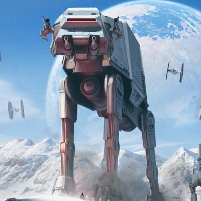 AT-AT Art by Pablo Olivera