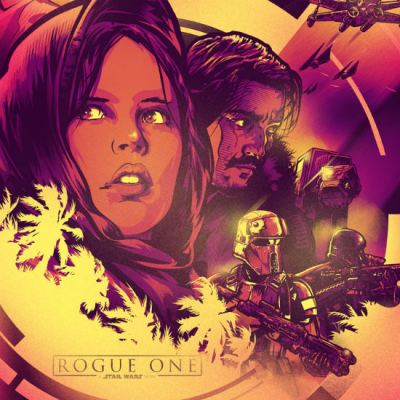 Rogue One Poster by Paul Ainsworth