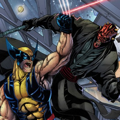 Darth Maul vs Wolverine by Jey Soliva