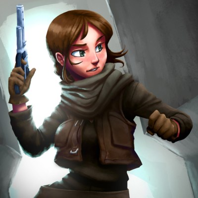 Jyn Erso by Lemuel Paul Roperos