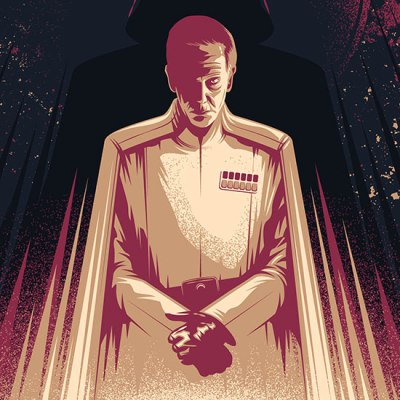 Rogue One Krennic Poster by Thomas Walker