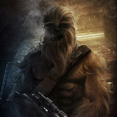 Chewbacca by Dotline