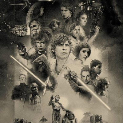 Star Wars Celebration Orlando Key Art by Paul Shipper
