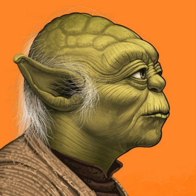 Yoda by Mike Mitchell