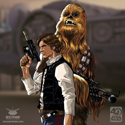 A New Hope Character Portraits (x7) by Michael Pasquale