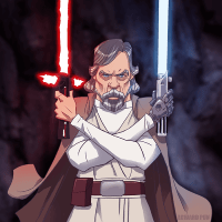 Luke Skywalker by Edward Pun