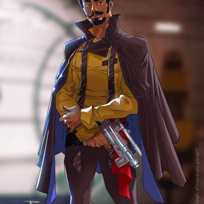 Lando Calrissian by Michael Pasquale