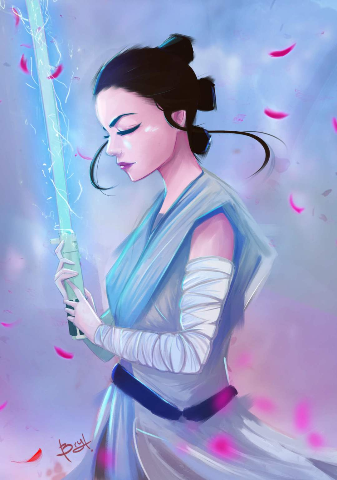Rey by Brian Draws