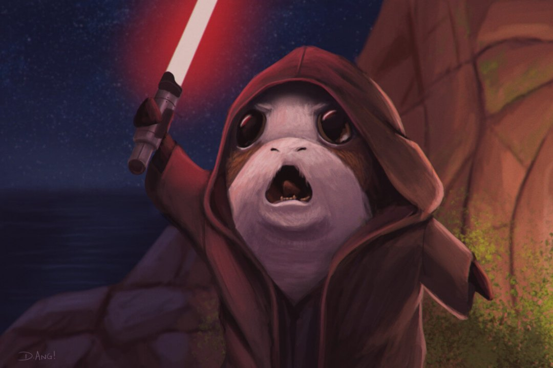 Revenge Of The Porg by Daniel Ang