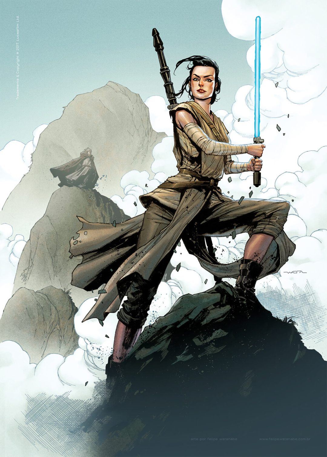 Rey by Felipe Wantanabe
