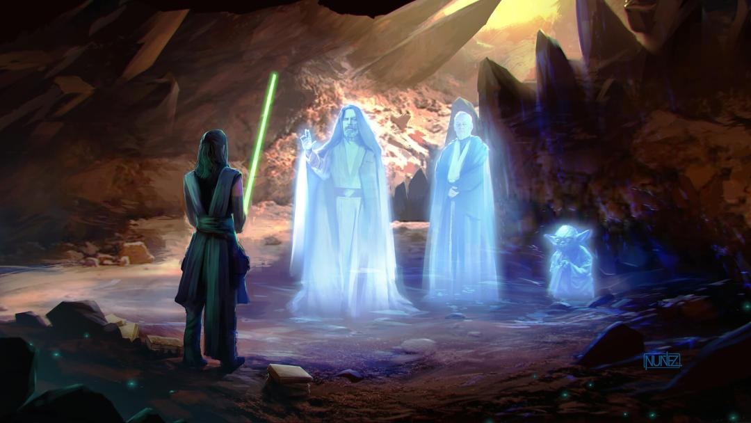 The Force Gathering by William Nunez