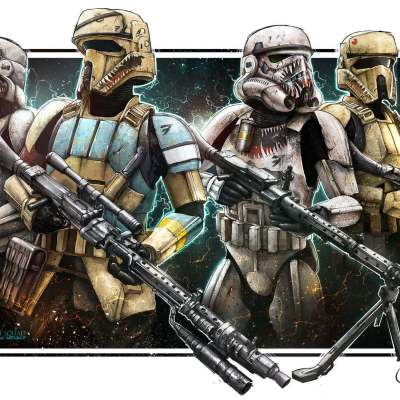Heavy Assault Squad by Shane Molina