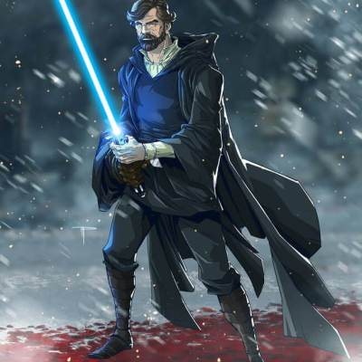 Luke Skywalker by Mike Pasquale