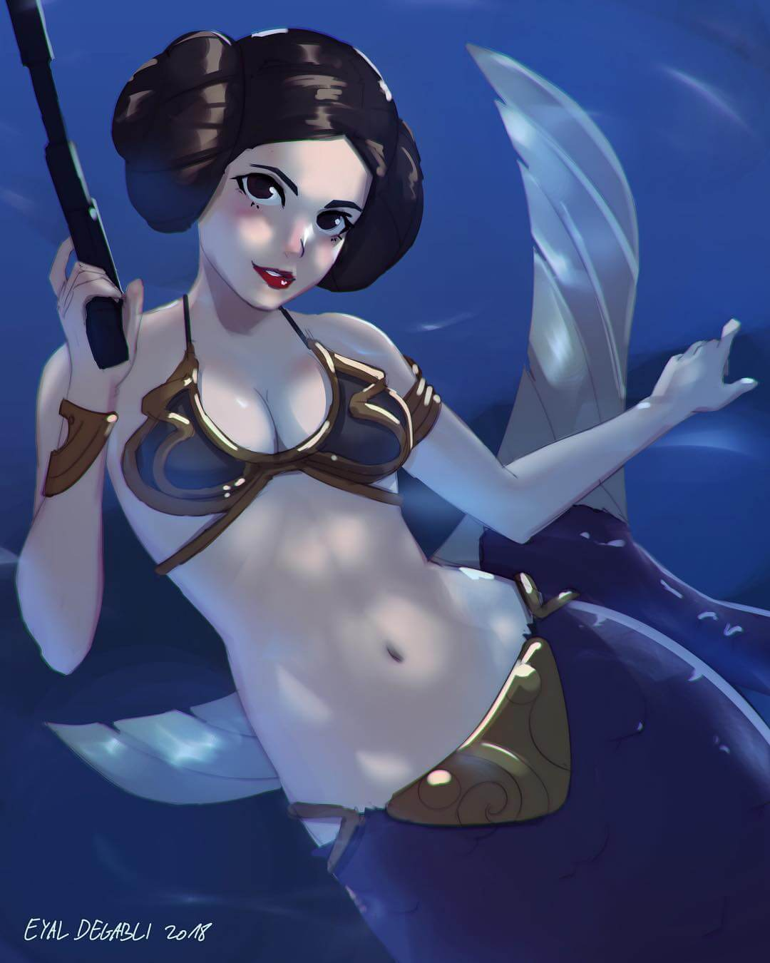 Mermaid Leia by Eyal Degabli