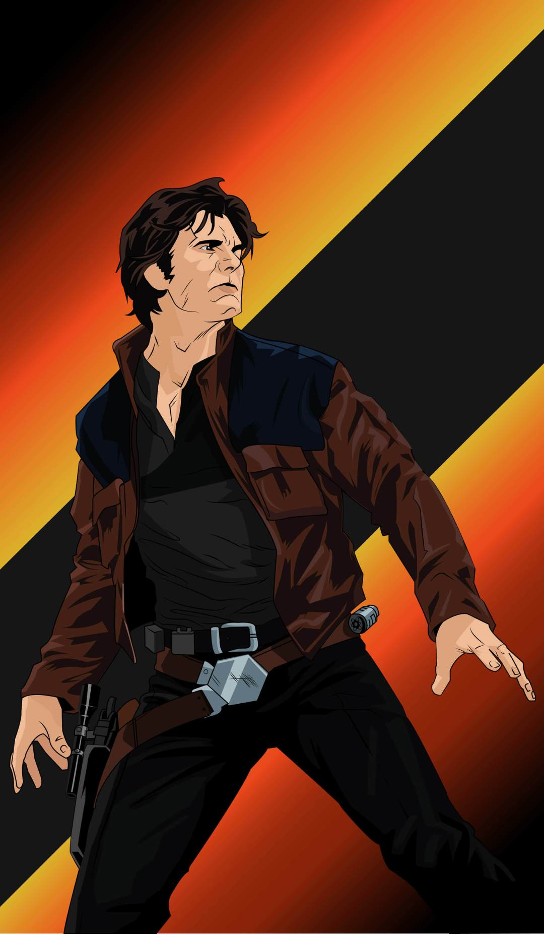 Young Han Solo by Fernand Chon