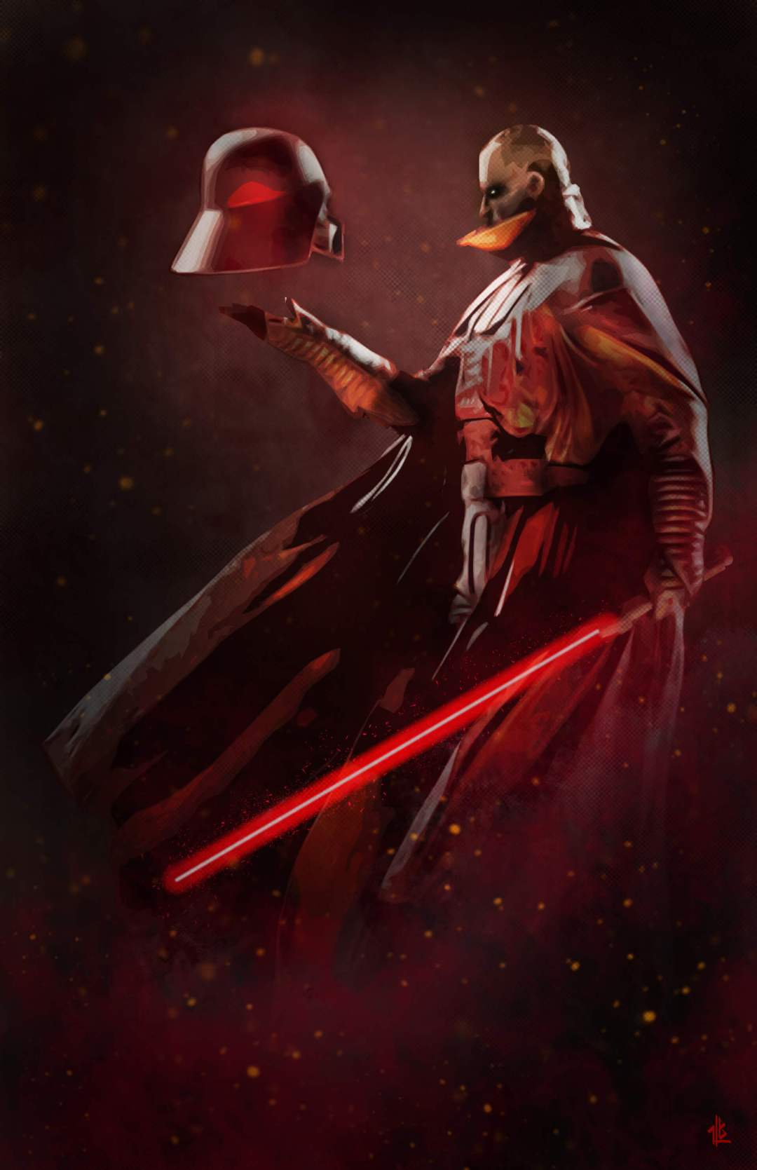 Lord Of The Sith by Ben Laverock
