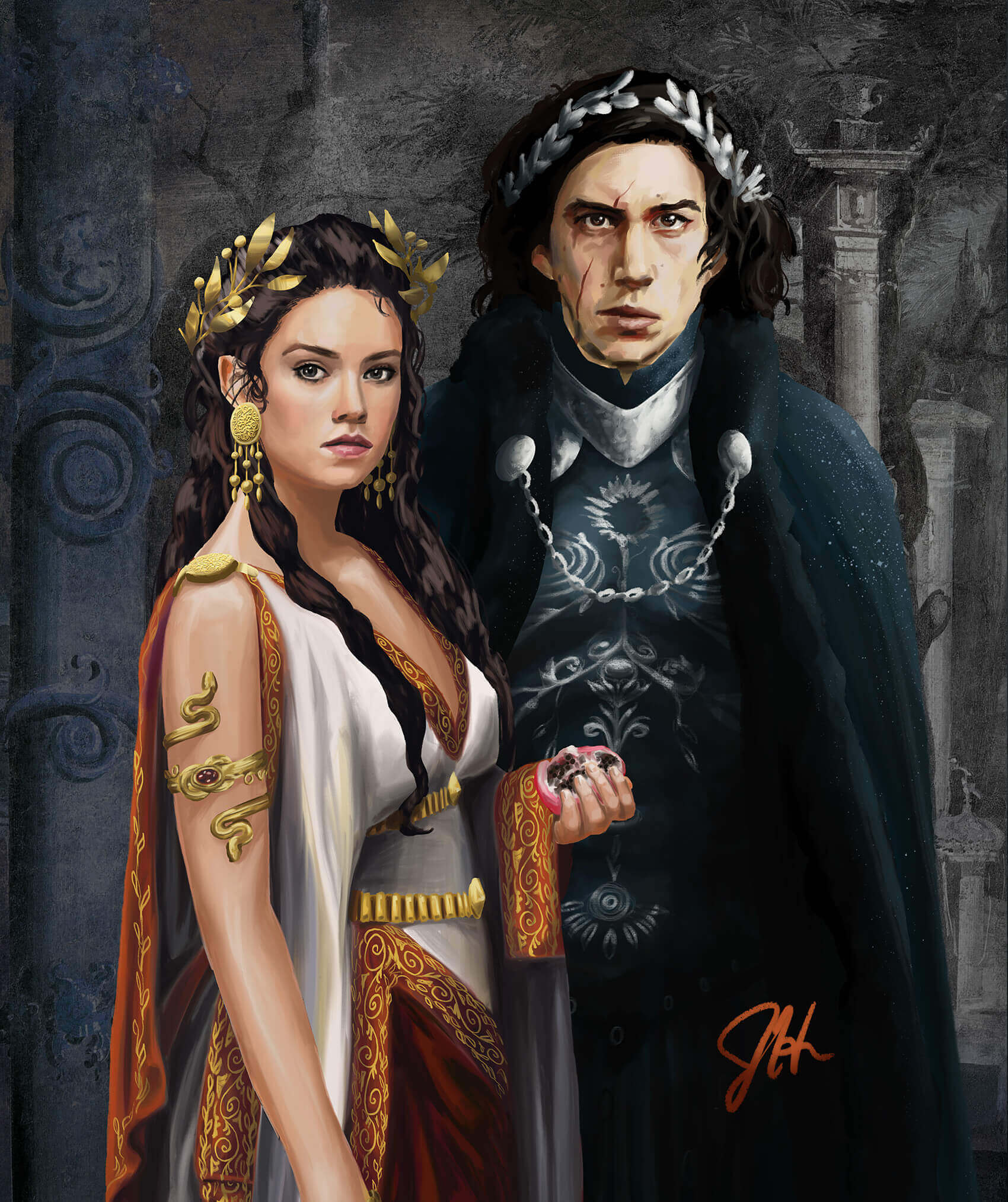 Hades & Persephone by Julia Harrison
