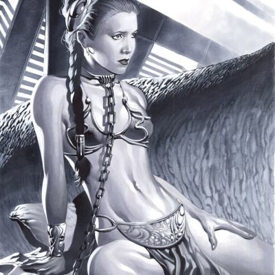 Slave Leia by Christopher Stevens