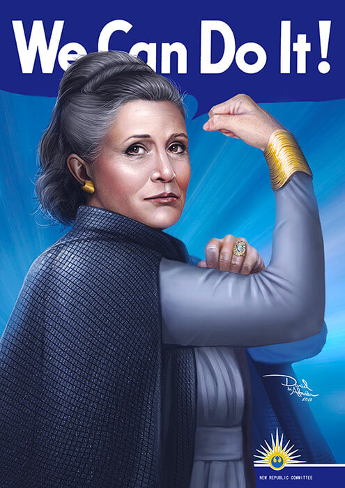 We Can Do It! - General Leia Organa