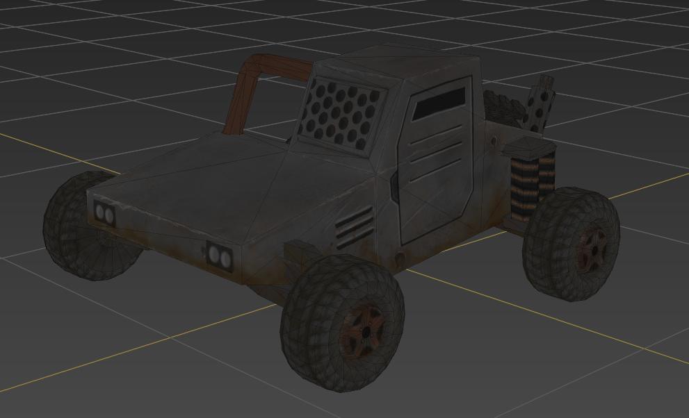 Corp Wars: Karavan - Wastelander Buggy