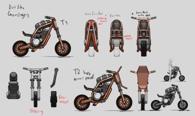 The Siege Portfolio: Wastelander Biker