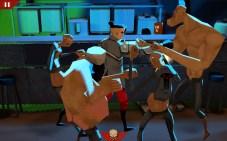 Wasteland Bar Fight: Guy Fighting Creeps, Bully and Thug
