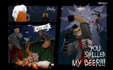 Wasteland Bar Fight: Gerges Intro Screen