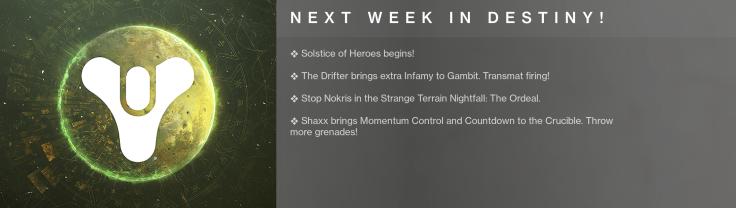Next Week in Destiny 08-11-2020