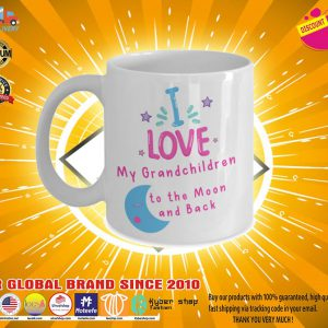 Download I love my grandchildren to the moon and back mug