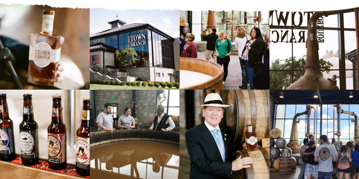 Town Branch image collage